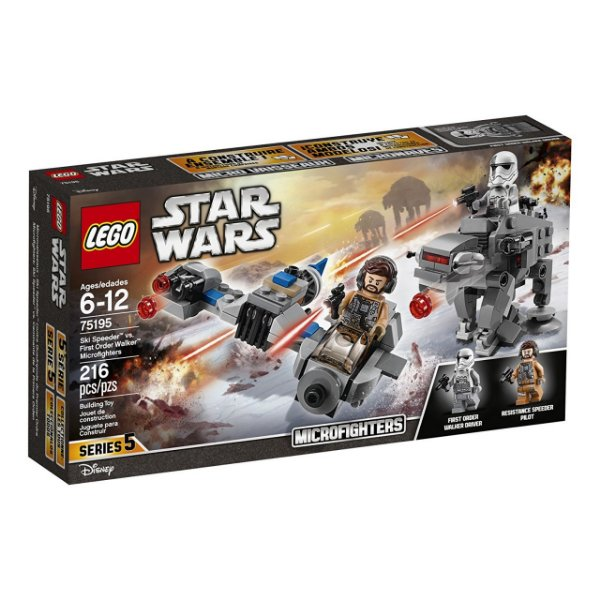 LEGO Star Wars - Microfighters Ski Speeder™ vs. Walker de Assalto da Primeira Ordem 75195