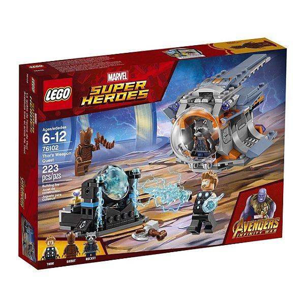 LEGO Super Heroes - Procura da Arma de Thor 76102