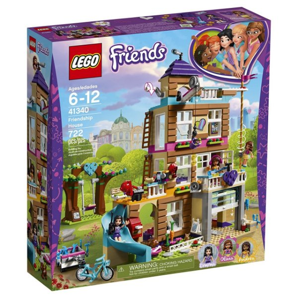 LEGO Friends - Casa da Amizade 41340