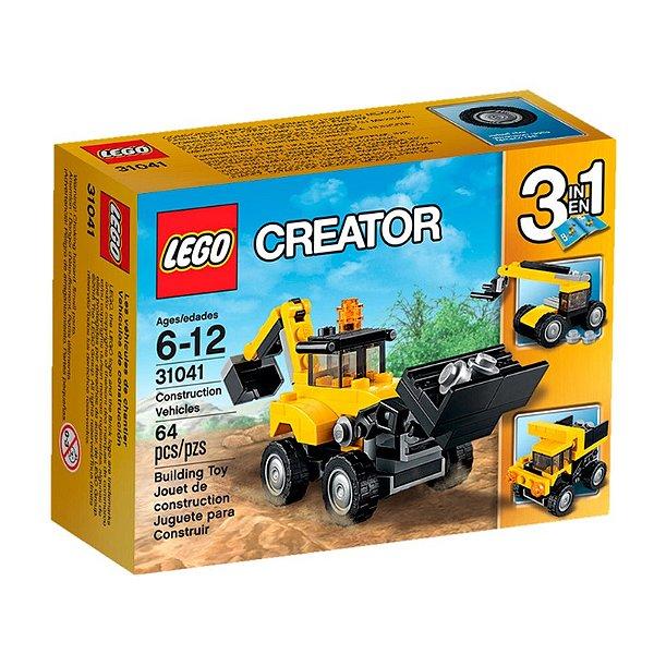LEGO Creator - Veículos de Construção 31041