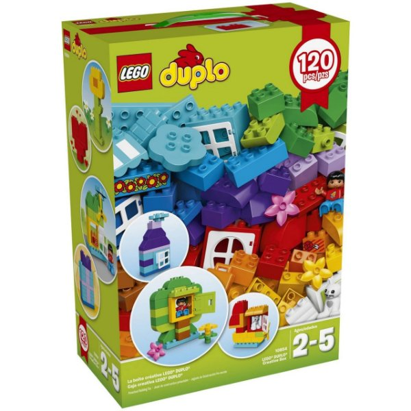 LEGO Duplo - LEGO® DUPLO® Caixa Criativa 10854