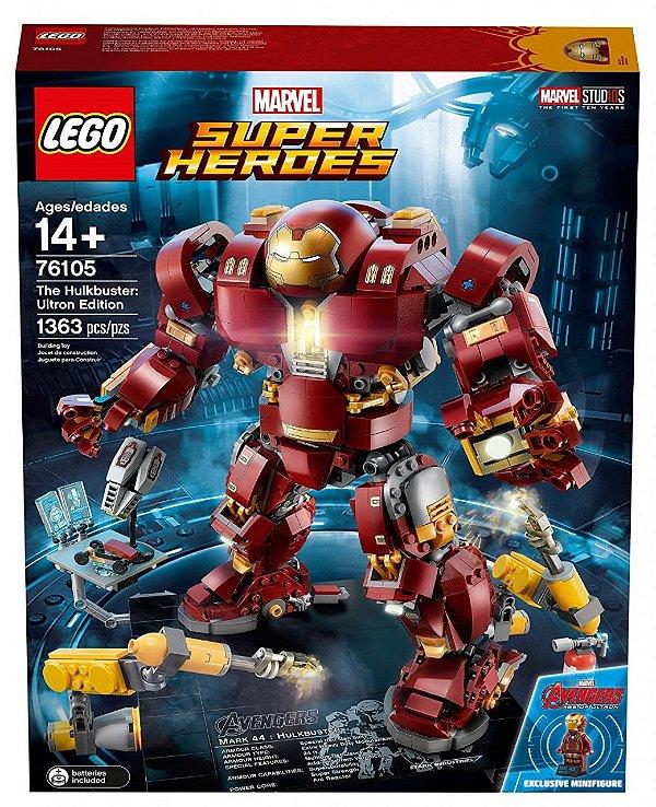 LEGO Super Heroes - Hulkbuster: Edição Ultron  76105