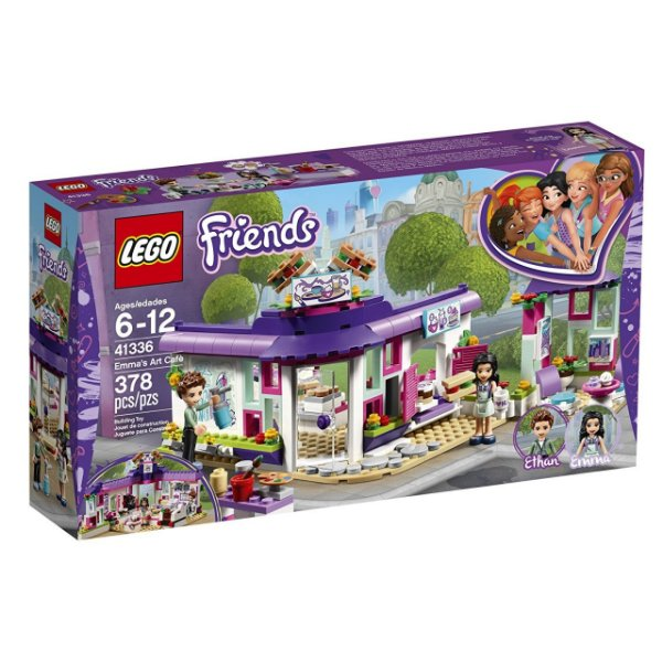 LEGO Friends - O Café de Arte da Emma 41336