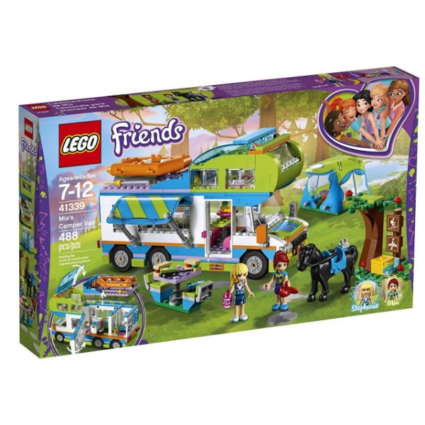 LEGO Friends - O Trailer da Mia 41339