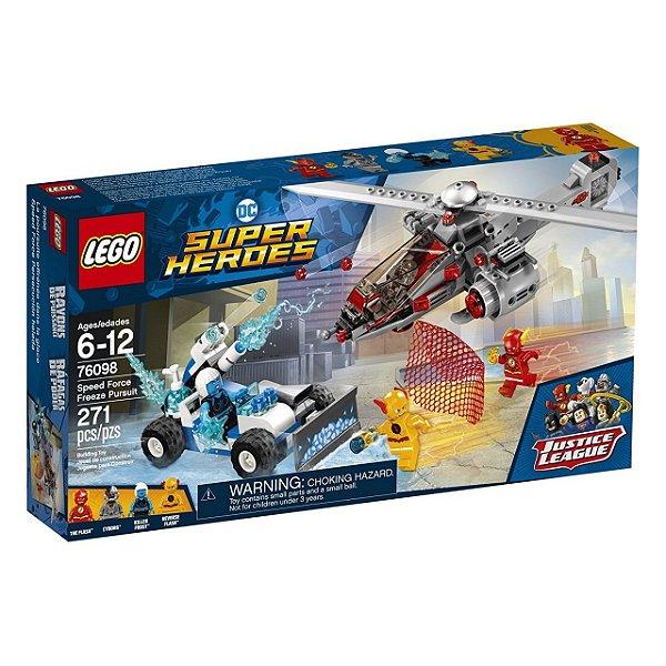 LEGO Super Heroes - Perseguição Congelante em alta Velocidade 76098