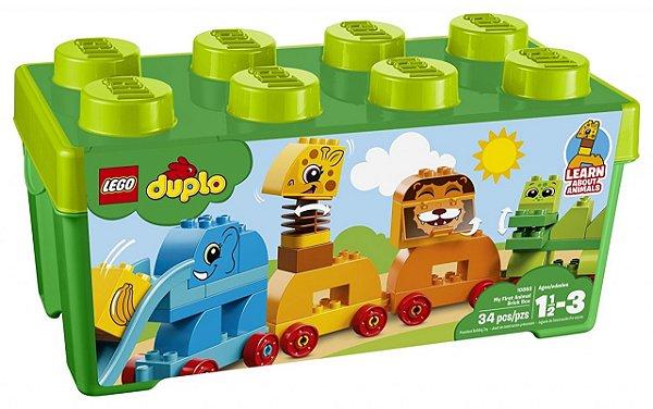 LEGO Duplo - A Minha Primeira Caixa - Trem Animal 10863