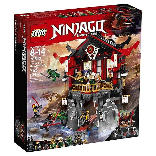 LEGO Ninjago - Templo da Ressurreição 70643
