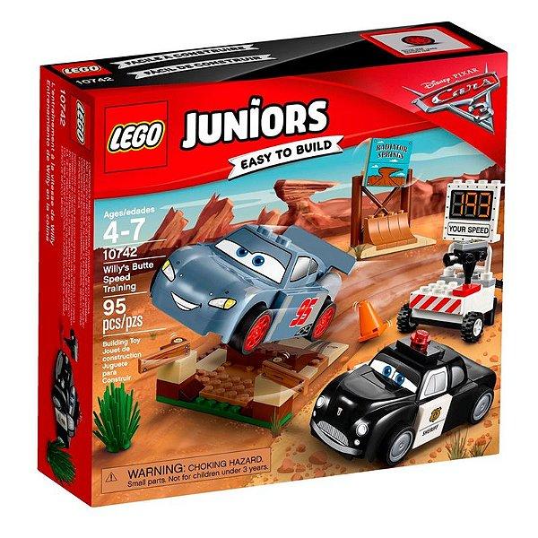 LEGO Juniors - O Treino de Velocidade de Willy's Butte 10742