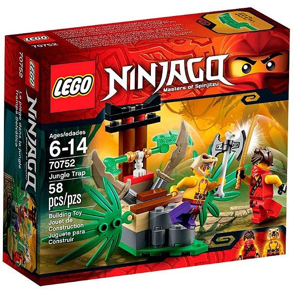 LEGO Ninjago - Armadilha da Selva 70752