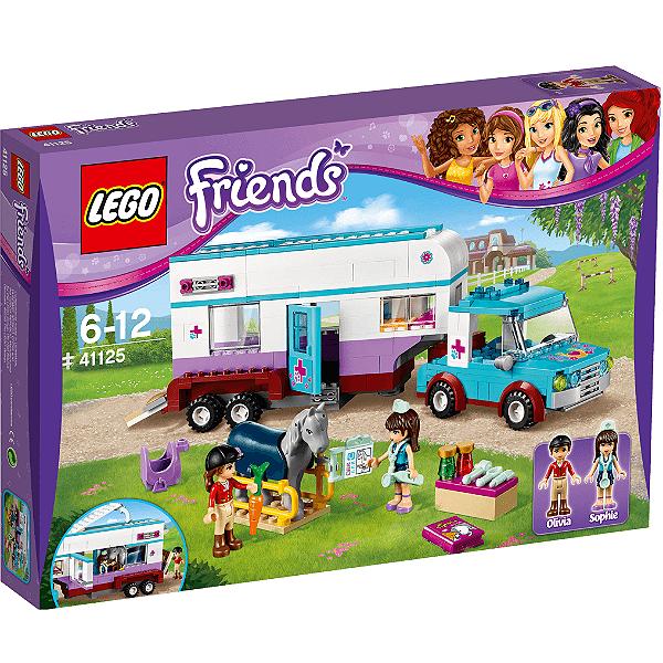 LEGO Friends - Trailer Veterinário para Cavalos 41125