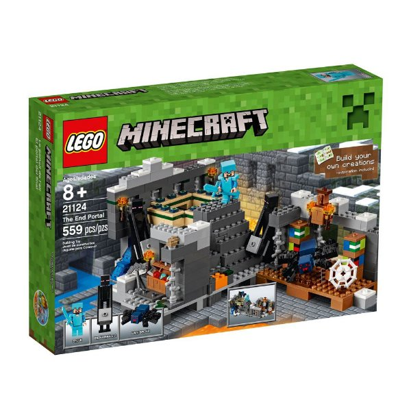 LEGO Minecraft - O portal do Fim 21124