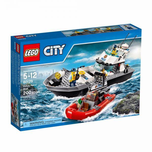 LEGO City - Barco de Patrulha da Polícia 60129