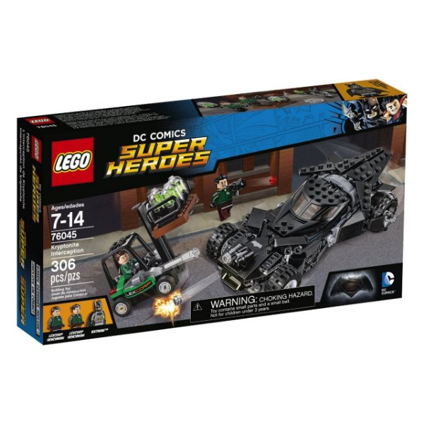 LEGO Super Heroes - Interceptação de Kryptonita 76045