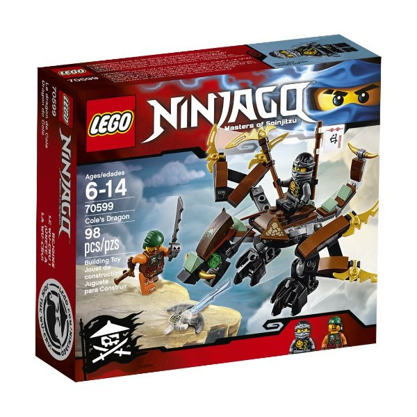 LEGO Ninjago - Dragão do Cole 70599