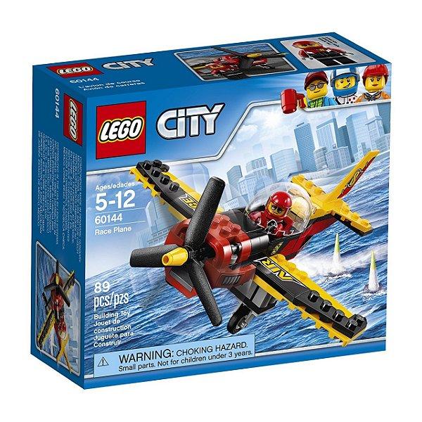 LEGO City - Avião de Corrida 60144