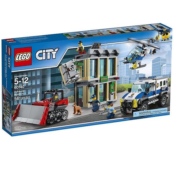 LEGO City - Invasão com Buldôzer 60140