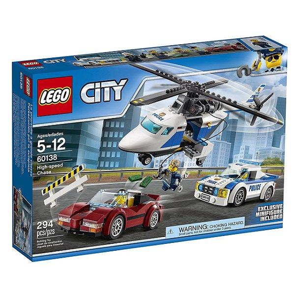 LEGO City - Perseguição em Alta Velocidade 60138