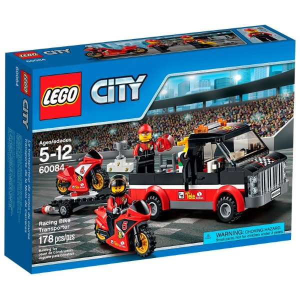 LEGO City - Transportador de Motocicletas de Corrida 60084