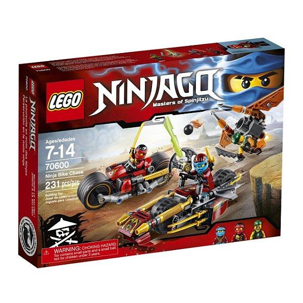 LEGO Ninjago - Perseguição de Motocicleta Ninja 70600