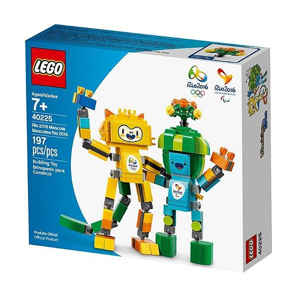 LEGO Mascotes Olimpíadas Rio 2016 - Tom e Vinícius