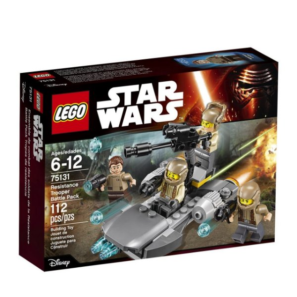 LEGO Star Wars - Pack De Combate Da Resistência 75131