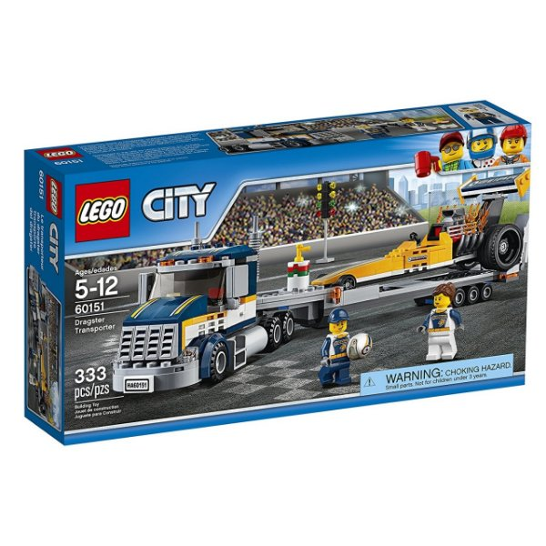LEGO City - Transportador de Dragster 60151