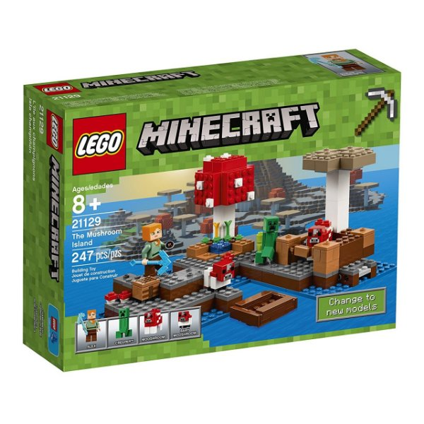 LEGO Minecraft - A Ilha dos Cogumelos 21129