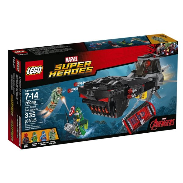 LEGO Super Heroes - Ataque de Submarino do Caveira de Ferro 76048