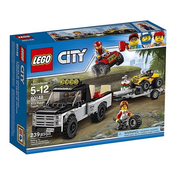 LEGO City - Equipe de Corrida de Veículo Off-Road 60148