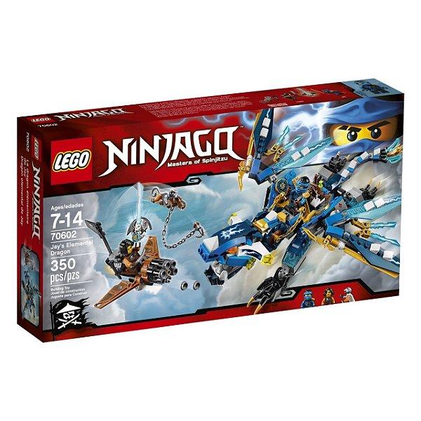 LEGO Ninjago - Dragão Elemental do Jay 70602