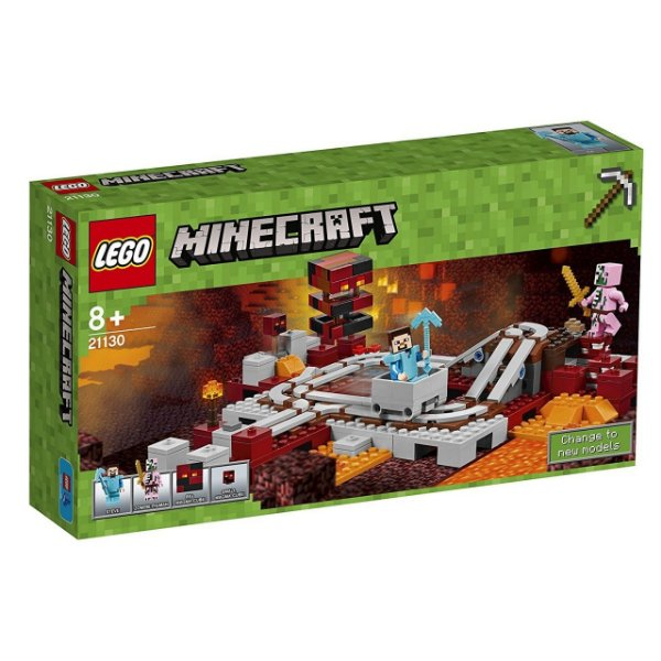 LEGO Minecraft - A Ferrovia Nether 21130
