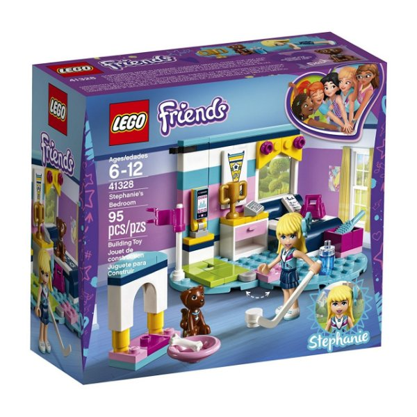 LEGO Friends - O Quarto da Stephanie 41328