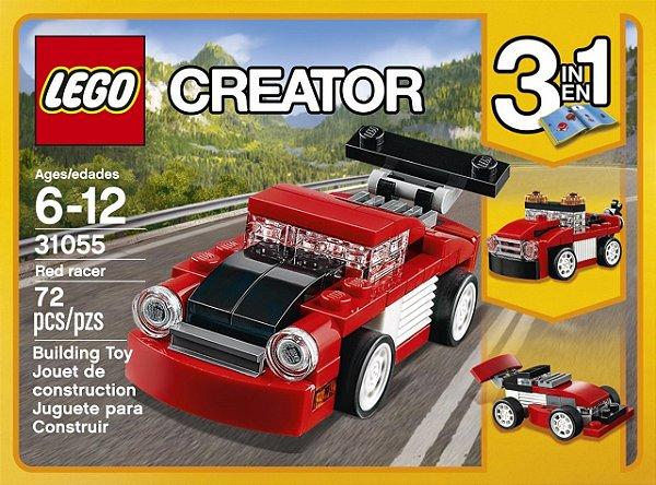 LEGO Creator - Carro de Corrida Vermelho 31055