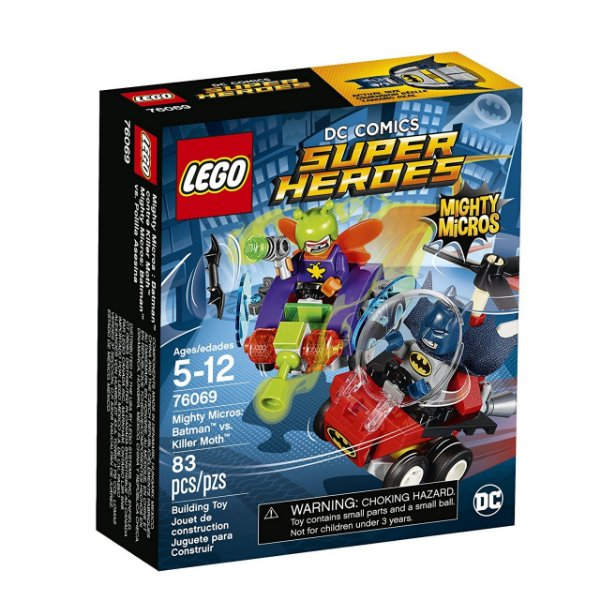 LEGO Poderosos Micros Batman vs. Killer Moth 76069