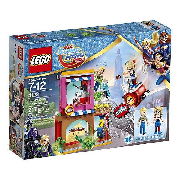 LEGO Super Hero Girls - Harley Quinn em missão de resgate  41231