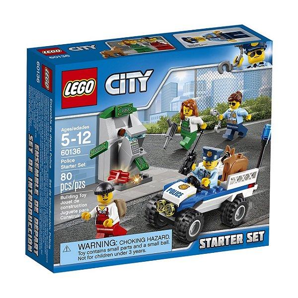LEGO City - Conjunto de Iniciação da Polícia 60136