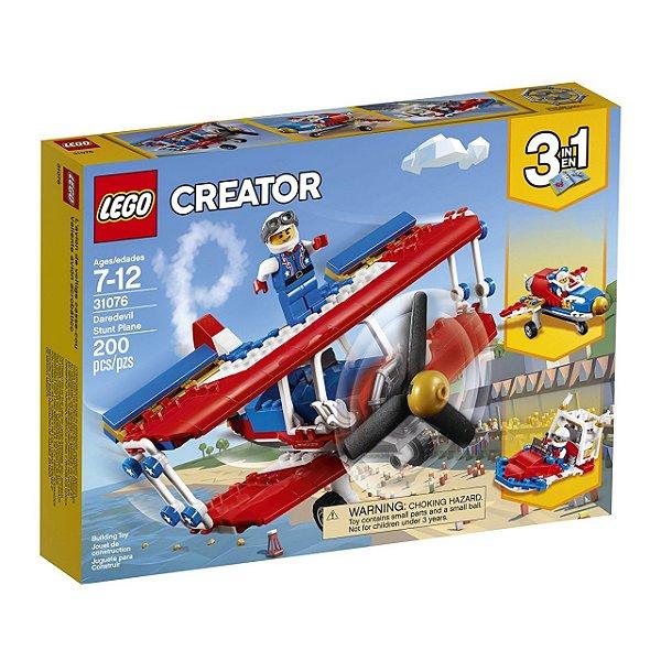 LEGO Creator - Avião de Acrobacias Ousadas 31076