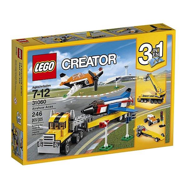 LEGO Creator - Ases do Espetáculo Aéreo 31060