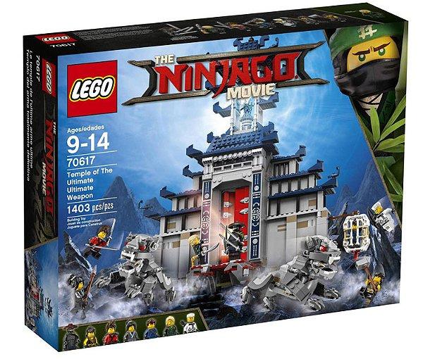 LEGO Ninjago - O Templo da Arma Super Super Poderosa 70617