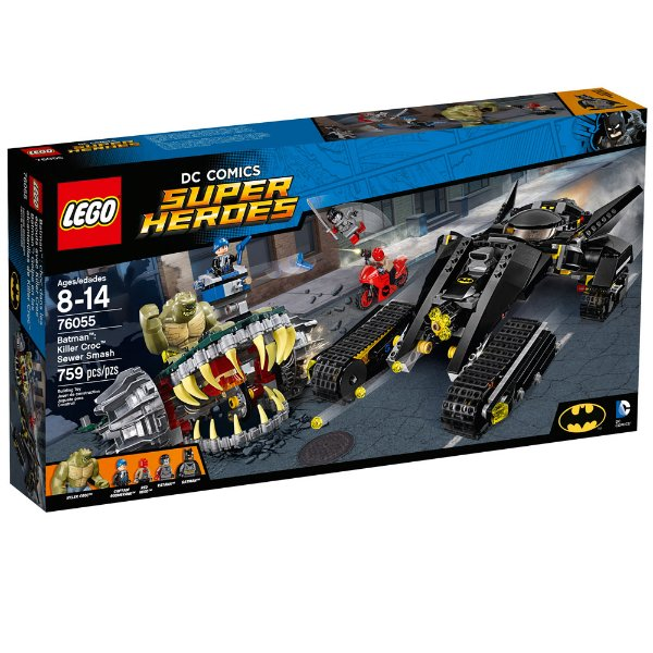 LEGO Super Heroes - Batman: Crocodilo Combate nos Esgotos 76055