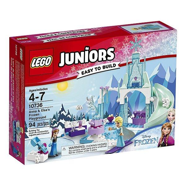 LEGO Juniors - O Pátio de Recreio Gelado de Anna e Elsa 10736