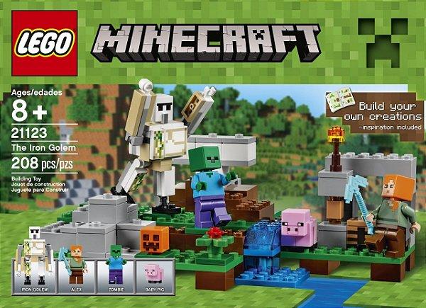 LEGO Minecraft - O Golem de Ferro 21123