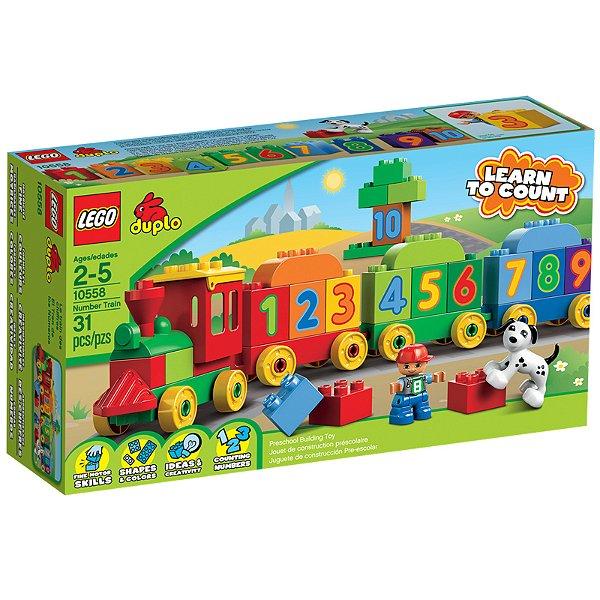 LEGO Duplo - Locomotiva dos Números 10558