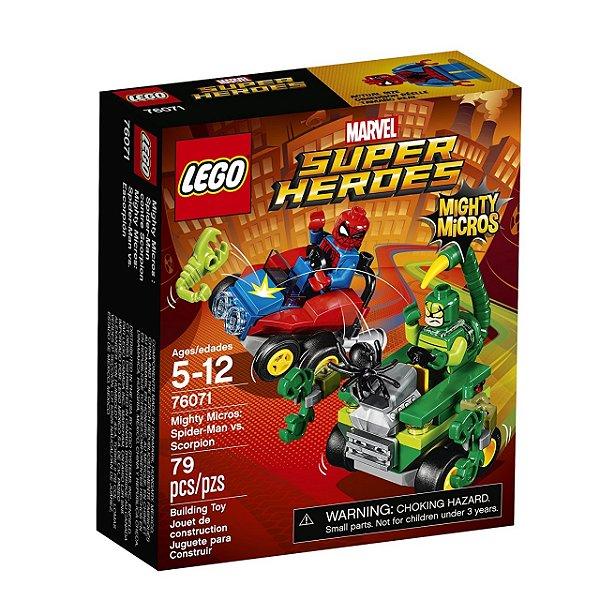 LEGO Poderosos Micros Homem-Aranha contra Escorpião 76071