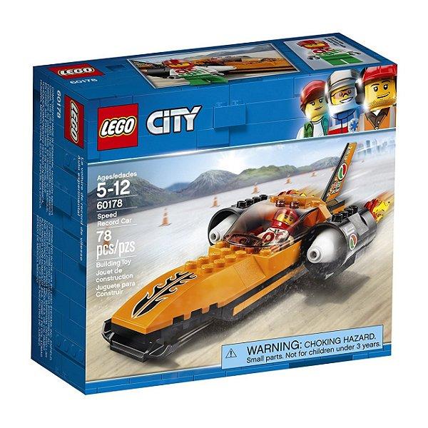 LEGO City - Batedor de Recordes de Velocidade 60178