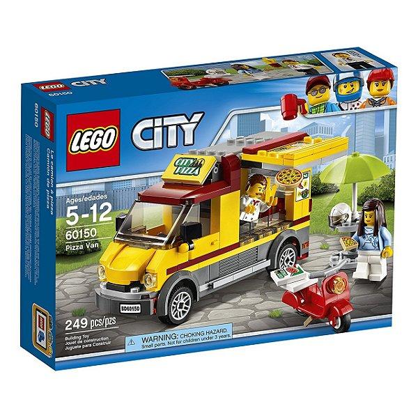 LEGO City - Van de Entrega de Pizzas 60150
