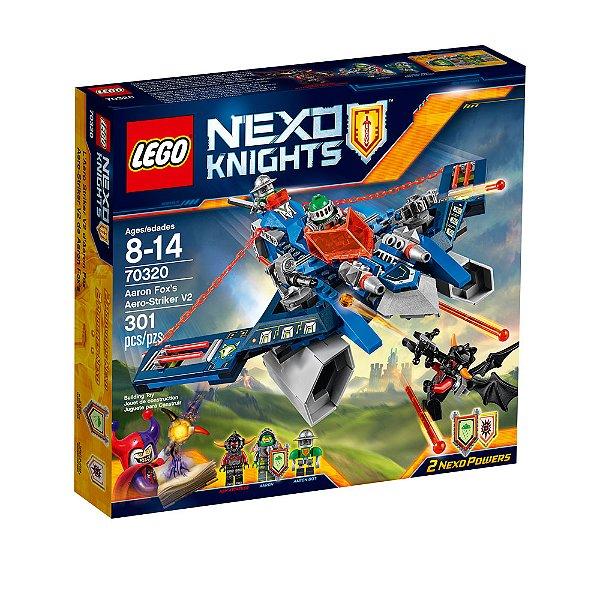 LEGO Nexo Knights - Ataque Aéreo V2 de Aaron 70320