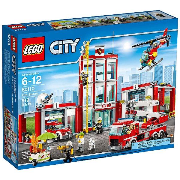 LEGO City - Quartel dos Bombeiros 60110