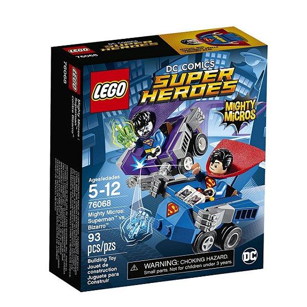 LEGO Poderosos Micros Super-Homem™ vs. Bizarro™ 76068