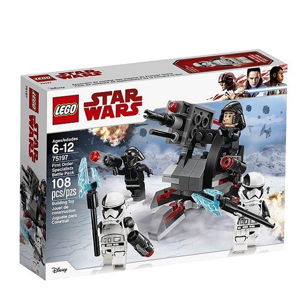 LEGO Star Wars - Pack de Combate Especialistas da Primeira Ordem 75197